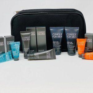 8pc Clinique For Men Moisturizer Skincare Dopp Kit